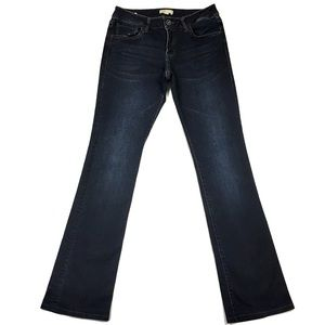 Cabi LONG Stretchy Storm Baby Bootcut Jean